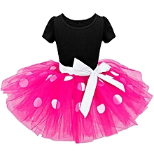 54b12b42315 Toddler Kids Baby Girls Clothes Pageant Party Bowknot Ball Gown Princess  Dress Musiccool