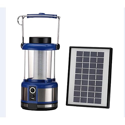 Solar LED Lantern With FM Radio And USB Phone Charger