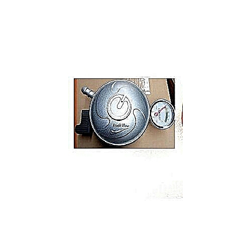Gas Regulator With Meter And Leak Detector