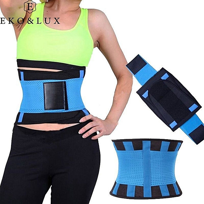 16fe411549e Hot Shapers Waist Trainer Power Belt Fitness Body Shaper Adjustable Waist  Support Breathable