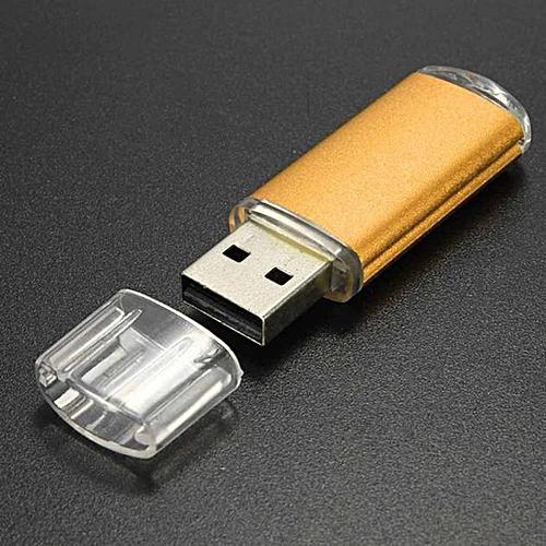 Miaodshao32GB USB 2.0 Metal Flash Memory Stick Storage Thumb U Disk GD