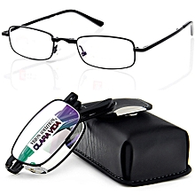 f92ac7aab369 QUALITY BLACK BELT PORTABLE Foldable Noble Wear Anti-reflection Coated  Reading Glasses +2.00 (