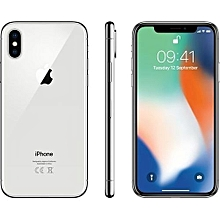 IPhone X 5.8 Inches Super AMOLED (3GB RAM, 256GB ROM) 4G LTE Smartphone - Silver