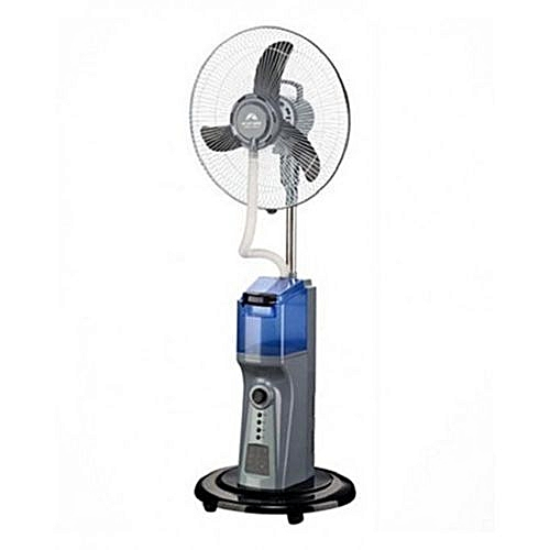 Andrakk Rechargeable Mist Fan WIith Solar Support+usb Function + Free USB CABLE