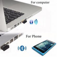 Wireless USB Bluetooth Adapter V4.0 Black For Computer PC Lap Mini
