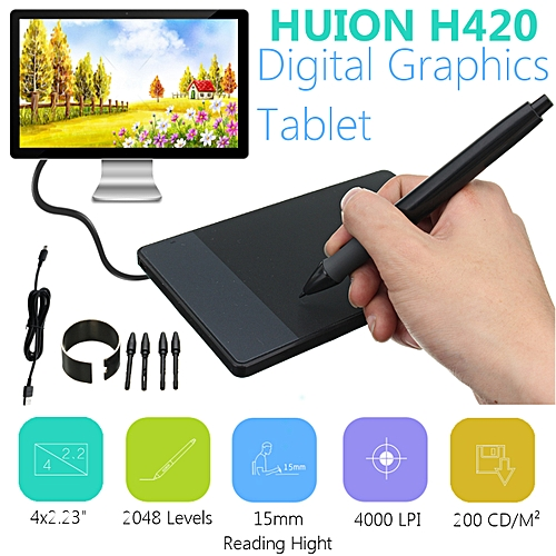 Stylus Digital Drawing Pen Graphics Tablet Signature Pad Huion 680S H420 580