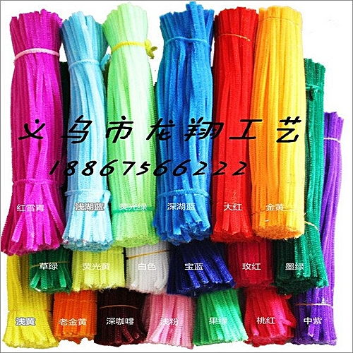100Pcs Stick Stem Pipes Cleaner Tobacco Pipe Cleaning Tool Children Random Color