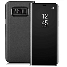 Galaxy S8 Flip Case ( Sensor) Black Approved High Standard Case ( Scretch Stain Resistance