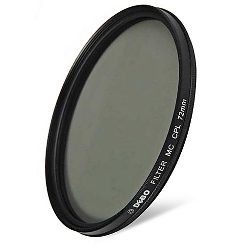72mm Diameter Camera CPL Filter For Photographer- Black