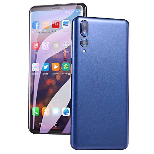 73fab1825 Generic Mobile Phone Smartphone 5.8-Inch Android 6.0 (2MP+2MP) Dual-SIM 3G  Smartphone-Blue