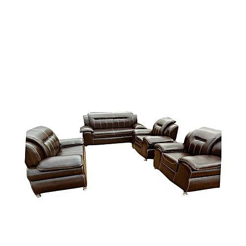 Cathalian 7 Seater Leather Sofa, Delivery Lagos Only