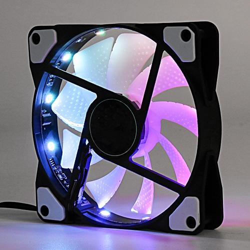 268Lighting 12cm 120mm Game RGB Fan Cooler Case PC Computer Cooling 3 / 4 Pin