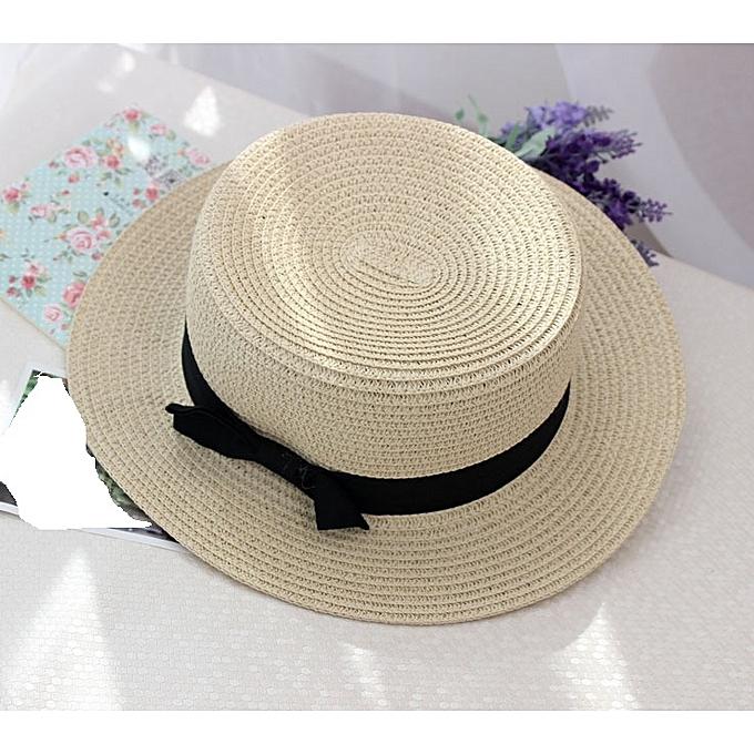 fe82205a Fashion Unisex Straw Hat - Cream | Jumia NG