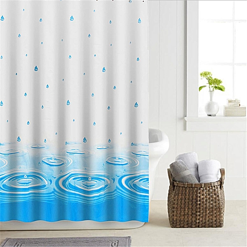 Antibacterial Shower Curtains, Different Sizes, Extra Wide, Narrow Or Long 180x200cm