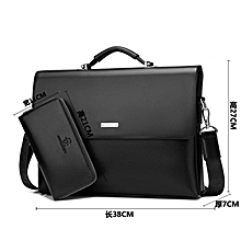 45b26bad192b7f New Arrival Brand Business Men Briefcase PU Leather Laptop Briefcase Bag  Male Shoulder Bag High Quality