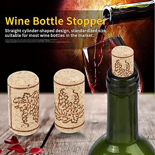 100PCS 22 *44mm Natural Cork StraightCorks Wooden Bottle Stopper