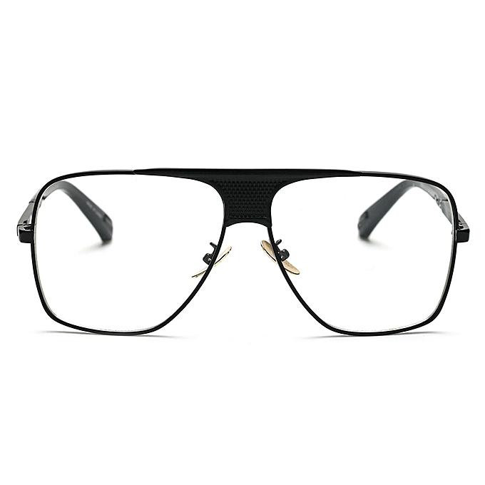 4ef4d5dd974 ... Luxury Eye Glasses Frames For Men Top Quality Gold Metal Flat Top Big Man  Glasses Optical ...