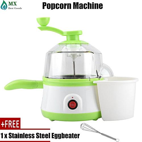 [free Gift] Multifunctional Mini Popcorn Popper Boiled Fried Egg Cooker Cooking Machine (EU Plug)