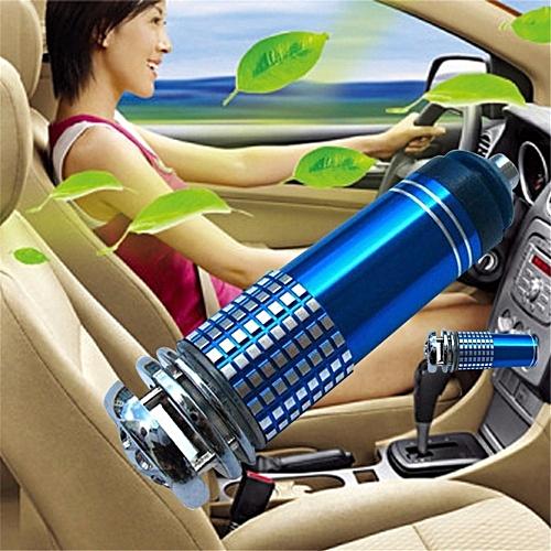 Vehicle Air Purifier Mini Auto Car Fresh Air Anion Lonic Purifier Oxygen Bar