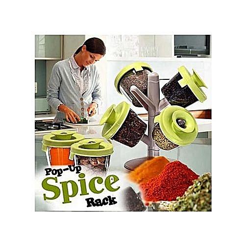 Spice Rack ( Stylish Pop Up Spice Rack)