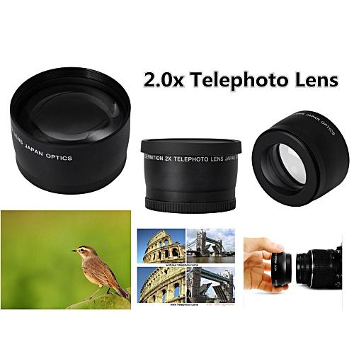 58mm 2X Telephoto Lens For Canon Nikon Sony 58mm Camera Lens