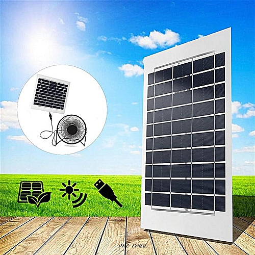 252884603293 Solar Panel Fan 4w 6w 11w 12w 20W 24w Sunpower For Home Free Power Ventilation