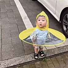 f96487cf86a77 1pcs Creative Raincoat Umbrella Headwear Hat Cap Foldable Outdoor Fishing  Golf Child Adult Rain Coat Cover