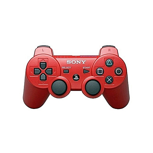 PS3 DualShock 3 Wireless Controller Pad - Red