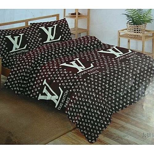 Bedsheet With Pillow Cases: Brown & Gorgeous