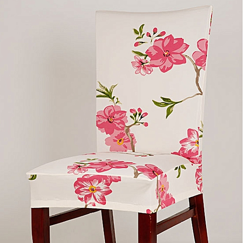 Elastic Stretch Removable Slipcovers Short Dining Room Chair Seat Cover Decor