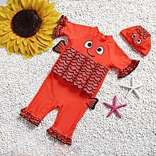 5310b9eff56c Cute Kid Boy Children One Piece Buoyancy Swimsuit Swim Vest Detachable Float  Swimwear Protect For Kids