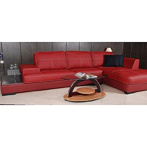 GENOA Corner Leather Sofa