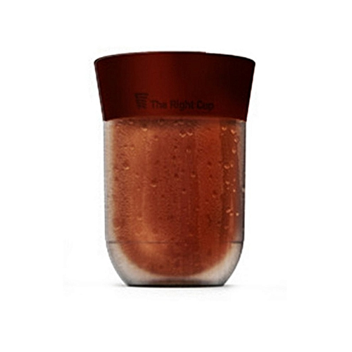 Fruit Juice Cup Summer Portable Size Cup Fruit Flavored Cup Drink Water Bottle*Coffee