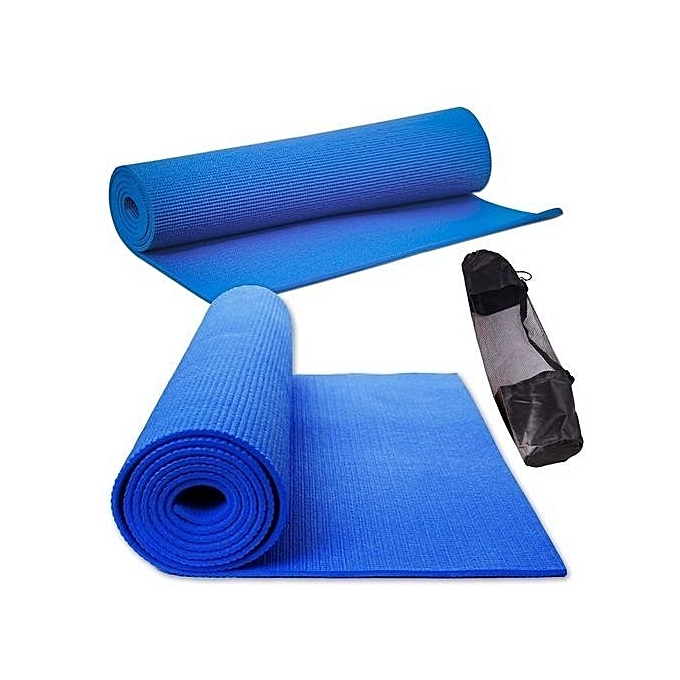 Premium & Body Friendly Non-Slip Yoga Mat With Carrying Bag