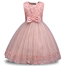 19efe91f2da Comfortable Children Dress Lace Dress Girls Bow Dress Skirt