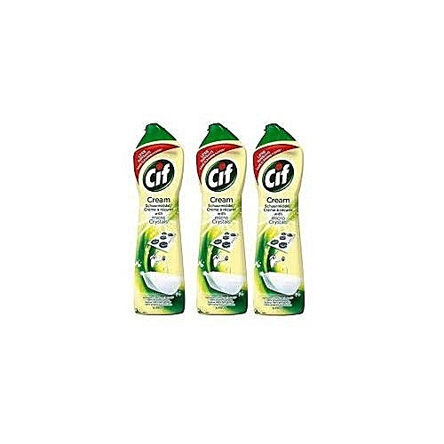 Cif Cream With Micro Crystal 500ml ( 3 In1)