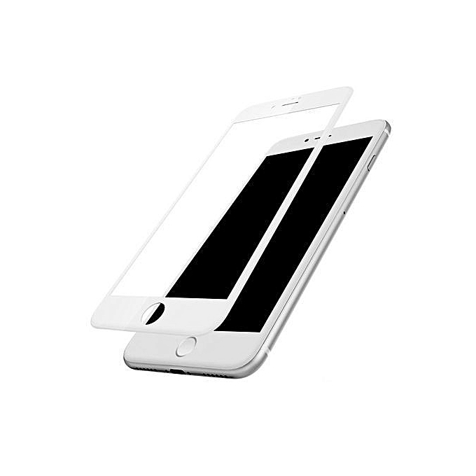 more photos 15e73 65b80 5D Tempered Glass Screen Protector For IPhone 8 +Plus -White