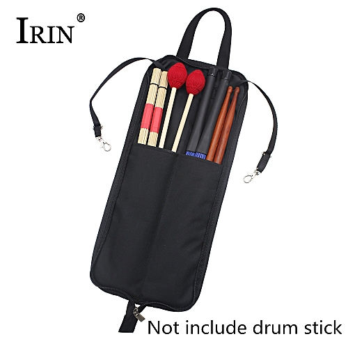 Drum Stick Bag With Handy Strap Drum Sticks Case Water-resistant Oxford Cloth Design
