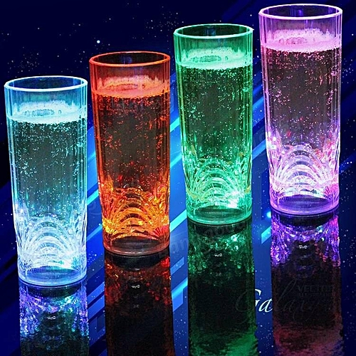 Color Box Bar Ktv Special Water Induction Light Cup Colorful Bar Light Cup