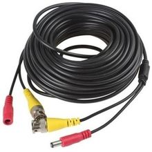 20m CCTV Camera Cable With BNC And Power Connectors