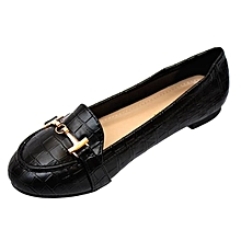 84a962ab8 Classy Patent Leather Ballerinas - Black
