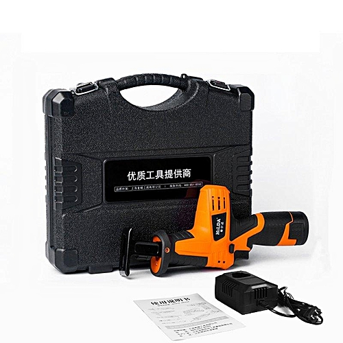 HILDA 12V Rechargeable Reciprocating Saw Wood Cutting Saw Electric Wood Metal Saw