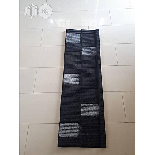 BLACK AND WHITE SHINGLE STONE COATED ROOFING SHEET DOHERICH