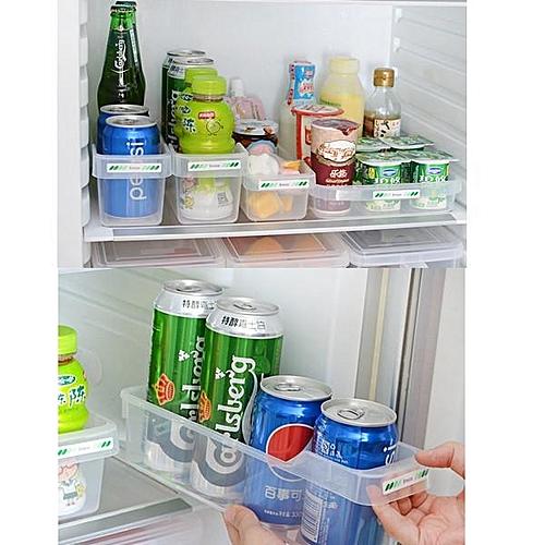 Kitchen Storage Rack Freezer Refrigerator Storage Tin