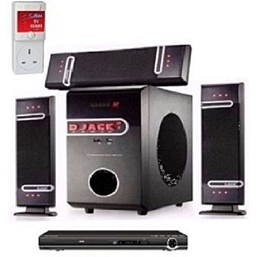 3.1 X-Bass Bluetooth Home Theatre System DJ-D3L With DVD Player And Surge