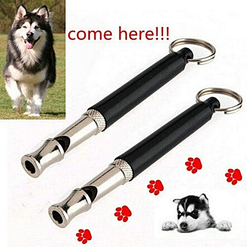 Dog Whistle Stop Barking Silent Ultrasonic Sound Repeller Train With Strap  Eg7