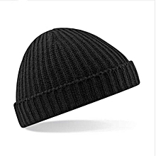7761f7a161851e Beanie Hats Mens Ladies Wooly Winter Caps Ski Knitted BK