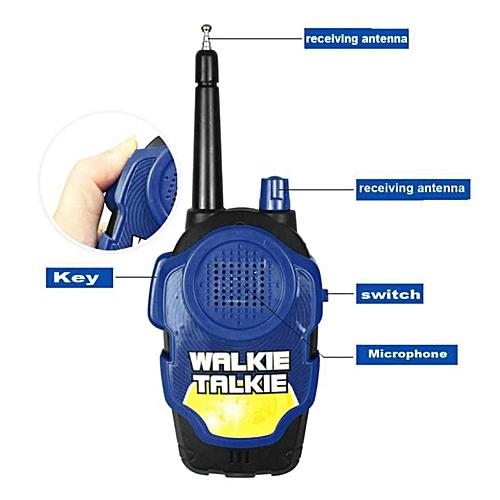 592060ee8 Generic 2Pcs Wireless Walkie Talkie Kids Electronic Toys Portable Two-Way  Radio BU
