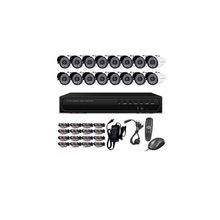 Play Back 16 Channel CCTV and 16 Camera  -