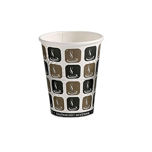 Disposable Coffee Cups With Lids - 1 Dozen